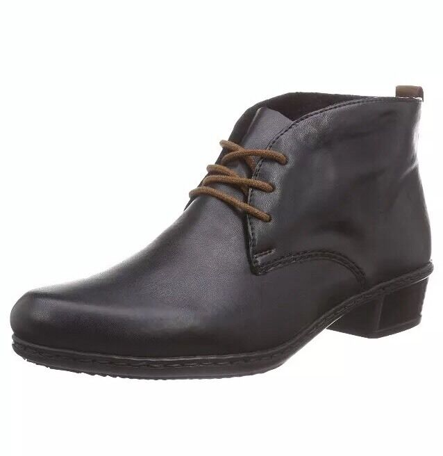 Rieker Women's M0732 Boots, Black (black Mogano 01), 6.5 UK 40 EU
