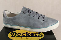 Dockers Lace Up Sneakers Low Shoes Light Blue