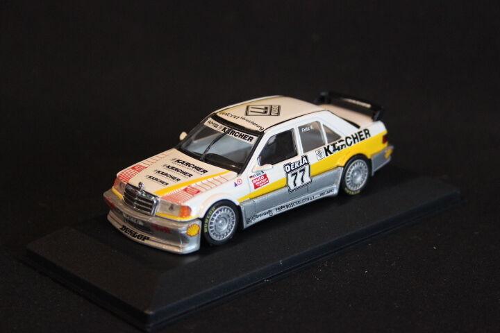Minichamps Mercedes-Benz 190 E Evo 1 1990 1 43  77 Fritz Kreuzpointner (JS)