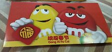 m&m's  New Year Ang  Pau/Red Packet