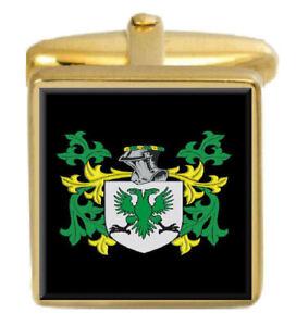 Boswell Scottish Clan Crest Cufflinks /& Box