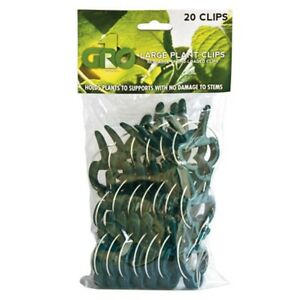Grow1 Large Plant Clips (20 pack) SAVE $$ W/ BAY HYDRO $$