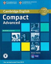 Cambridge COMPACT ADVANCED CAE Workbook SECOND ED w Answers +Audio NEW 2015 Exam