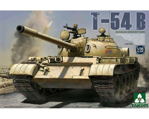 TAKOM RUSSIAN MEDIUM TANK T-54B 1 35 COD.2055