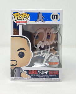"🔥 Gabriel ""Fluffy"" Iglesias Funko Pop Autographed Vinyl Figure New In Box 🔥"