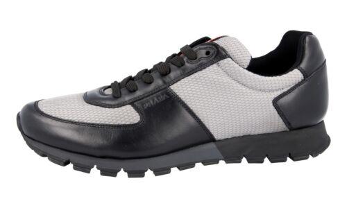 Prada 4e2642 Luxe 9 Grijs Nieuw Sneaker 5 Schoenen Nieuw 5 Zwart 44 43 thsQdr