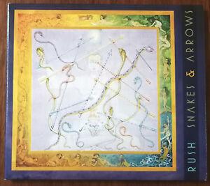 Rush-Snakes-amp-Arrows-CD-Digipak-7567-89990-4-Ex
