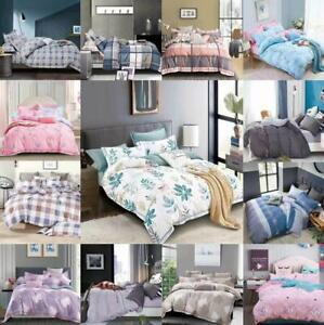 Luxury-Soft-Duvet-Quilt-Cover-With-Pillow-Case-Bedding-Set-Single-Double-King