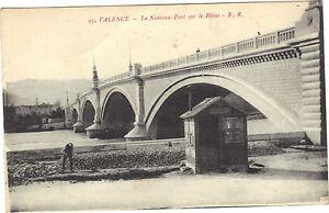 26-cpa-VALENCE-Le-nouveau-pont-sur-le-Rhone