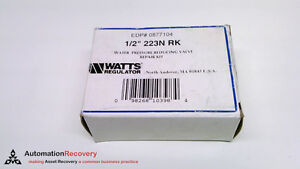 watts regulator 0877104 water pressure reducing valve repair kit new 209898. Black Bedroom Furniture Sets. Home Design Ideas