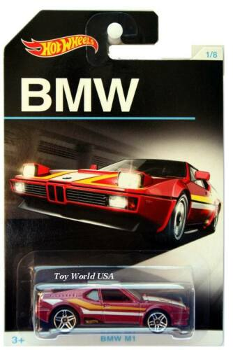 2016 Hot Wheels BMW Series #1 BMW M1