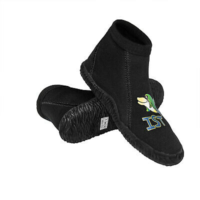 Water Sports Fins, Footwear & Gloves Capable Ist S38-j Kids 3mm Low Cut Sturdy Warm Water Booties Vulcanized Rubber Sole At Any Cost