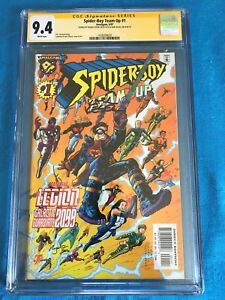 Spider-Boy-Team-up-1-Amalgam-CGC-SS-9-4-NM-Signed-by-R-Stern-K-Kesel