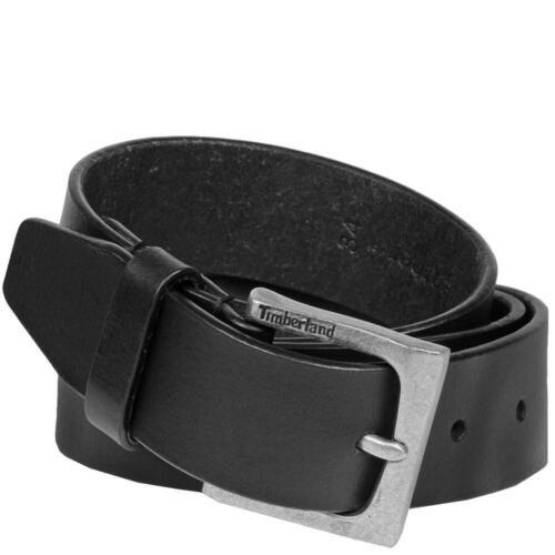 Timberland 35mm Classic Jeans Genuine Leather Urban Casual Black Belt B75397//08