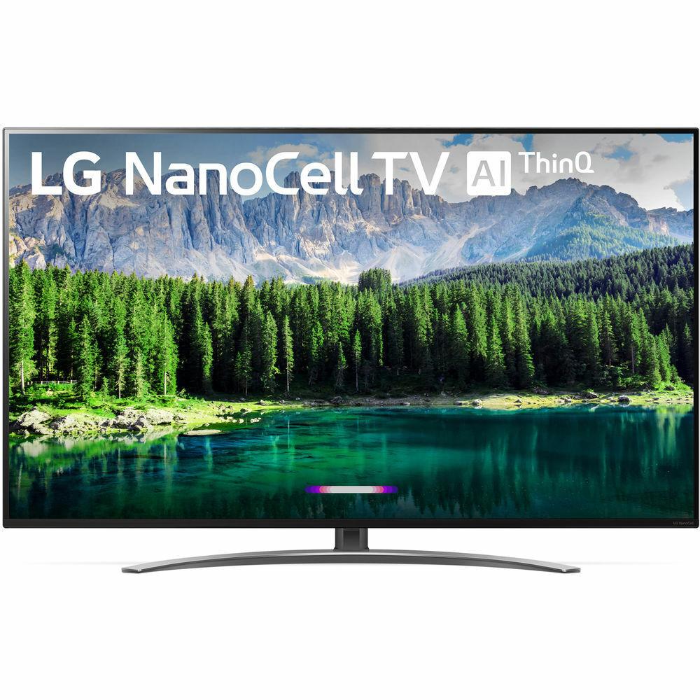 LG 75SM8670PUA 75″ 4K HDR Smart LED IPS TV w/ AI ThinQ (2019 Model)