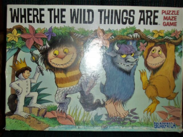 1999 WHERE THE WILD THINGS ARE Puzzle Maze Game Brairpatch