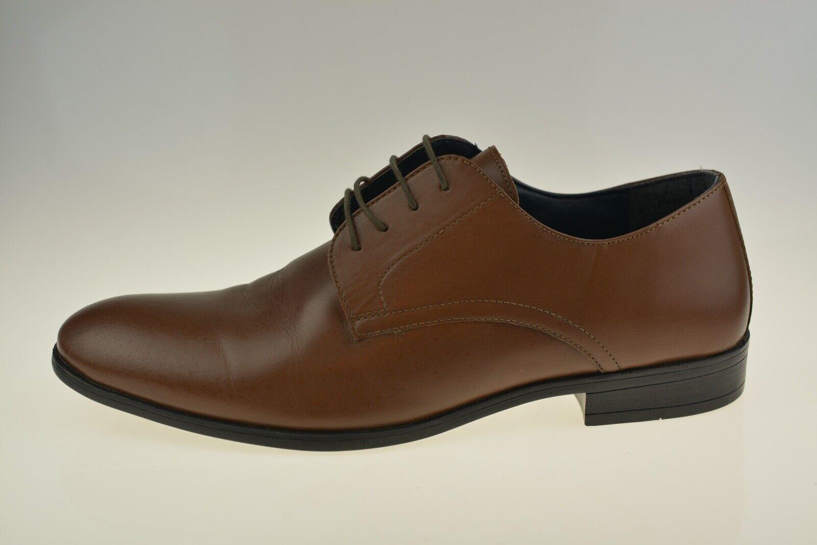 Next Design ST 1982 Brown Leather Men's Shoes Size Uk 10