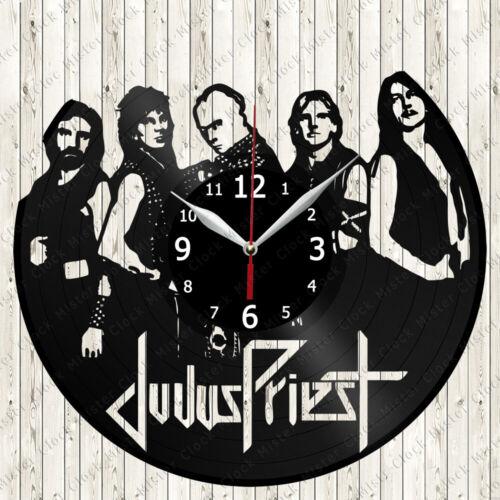 Details about  /Judas Priest Vinyl Record Wall Clock Decor Handmade 6428