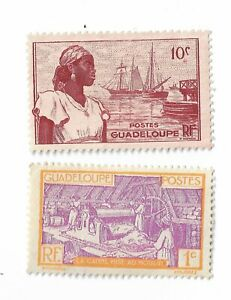 Guadeloupe-postage-stamps-x-2