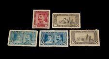 BOSNIA HERZEGOVINA, #B13, #B15, USED LOT OF 5, ISSUED IN 1917, NICE!! LQQK!!