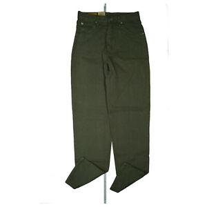 Edwin-Newton-Slim-Women-039-s-Jeans-Trousers-80er-90er-Legendary-29-32-W29-L32-Grun