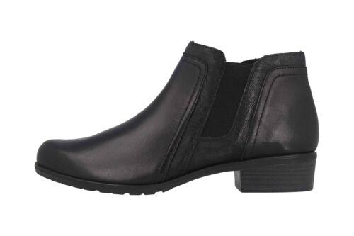Remonte Stiefeletten in Übergrößen Schwarz D6876-01 große Damenschuhe