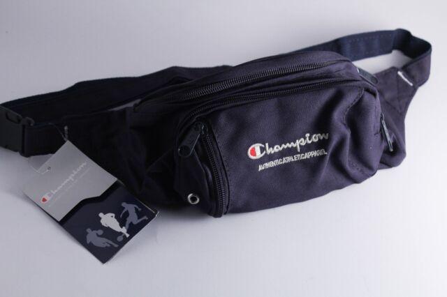 515cf9dfba19 Champion Fanny Pack Bum Bag Waist Pack Navy Adjustable Strap Supreme Gosha  NOS for sale online
