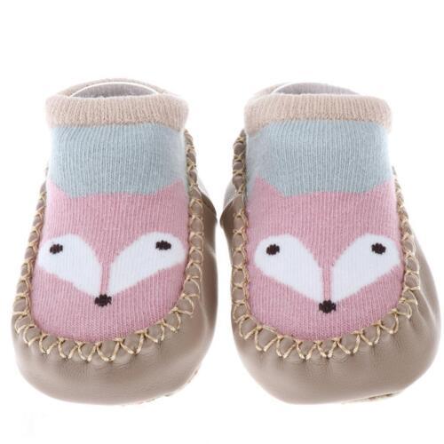 Cute Baby Anti-slip Socks Boy Girl Fox Cotton Newborn Infant Toddler Socks