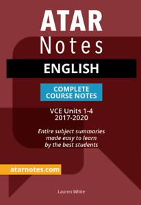 Notes-VCE-English-Units-1-4-Notes