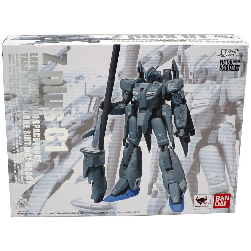 Bandai Metal Robot Spirits Soul Ka Signature MSZ-006C1 Z Plus C1 Gundam Figura