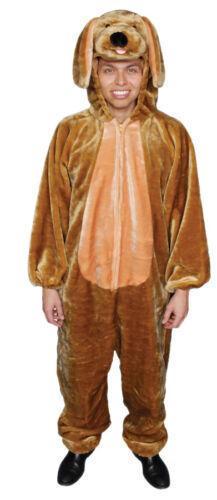Puppy Child /& Adult Costume Plush Zipper Front Long Sleeve Jumpsuit Fancy Dress