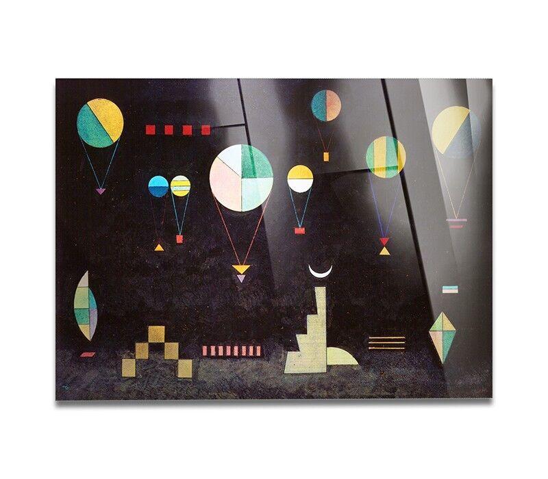Gelbbus - Vetro Acrilico - Wassily Kandinsky -  Piatto profondo