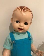 1950s Pedigree Delite Vintage Toddler Hard Plastic Boy Doll