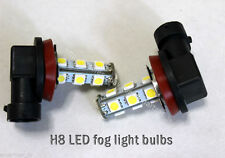 White H8 LED Fog Light Bulb fit 2013 2014 2015 2016 2017 KIA Rondo / Carens