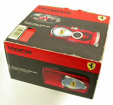 OLYMPUS digital Ferrari Model 2003 rot all-weather 4 MP NIB old stock neu OVP