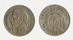 s1544-23-FRANCIA-NAPOLEONE-III-5-FRANCHI-1869-A