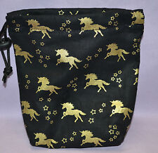 Unicorn Cloth Drawstring Dice Bag for Dice Masters/D&D/Armada/X-Wing/Pathfinder