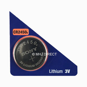 Sony-CR2450-CR-2450-DL2450-Lithium-3v-Battery-Coin-Cell-Use-By-Date-2029