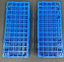 Plastic Test Tube Rack W 60 Holes 3 Layers Lot Of 2 Racks