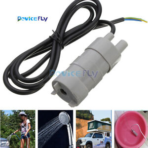 New-Solar-Brushless-Magnetic-Submersible-Water-Pump-DC-12V-5M-600L-H-Fish-Pond