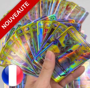 Cartes-Pokemon-neuves-GX-ESCOUADE-brillantes-en-francais