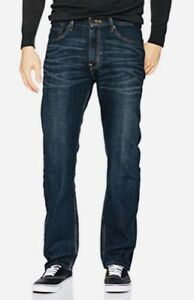 Signature-by-Levi-Strauss-amp-Co-Herren-Relaxed-Fit-Jeans-Westwood-blau