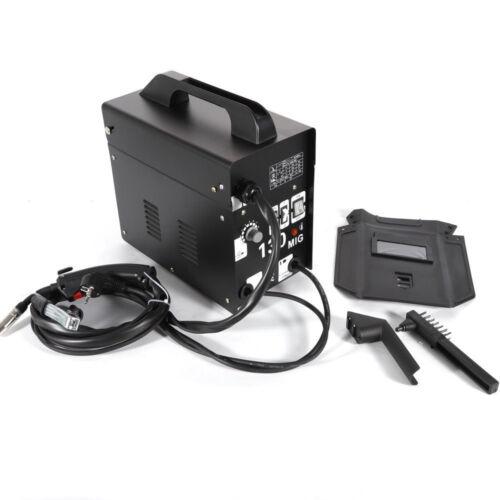Neu 230V Ampere Fülldraht Schweißgerät MIG-130 Elektrodenschweißmaschine