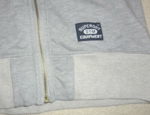 65 Taille £ Clair Hoodie Rrp Xs Superdry Gris t0qv0H