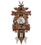 Vintage-Cuckoo-Clock-Forest-Swing-Wall-Room-Decor-Wood-Cartoon-Clock thumbnail 1