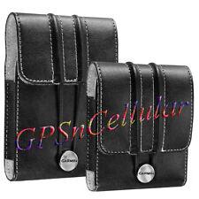"""OEM Garmin Nuvi 265 2250 1350 1370 1390 Leather Carry Case 3.5"""" GPS 010-11305-01"""