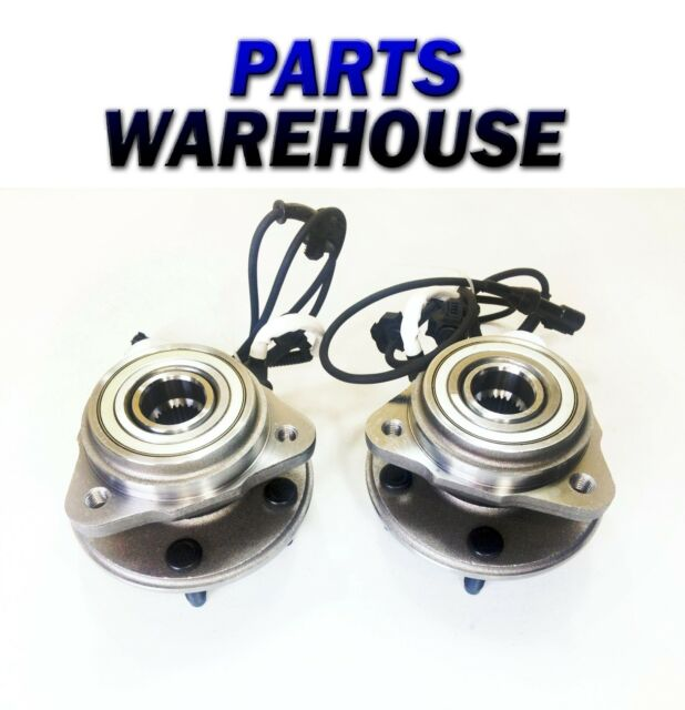 2 Front Hub Assembly For 01-02 Ford Explorer Sport Trac 4Wd 1 Year Warranty