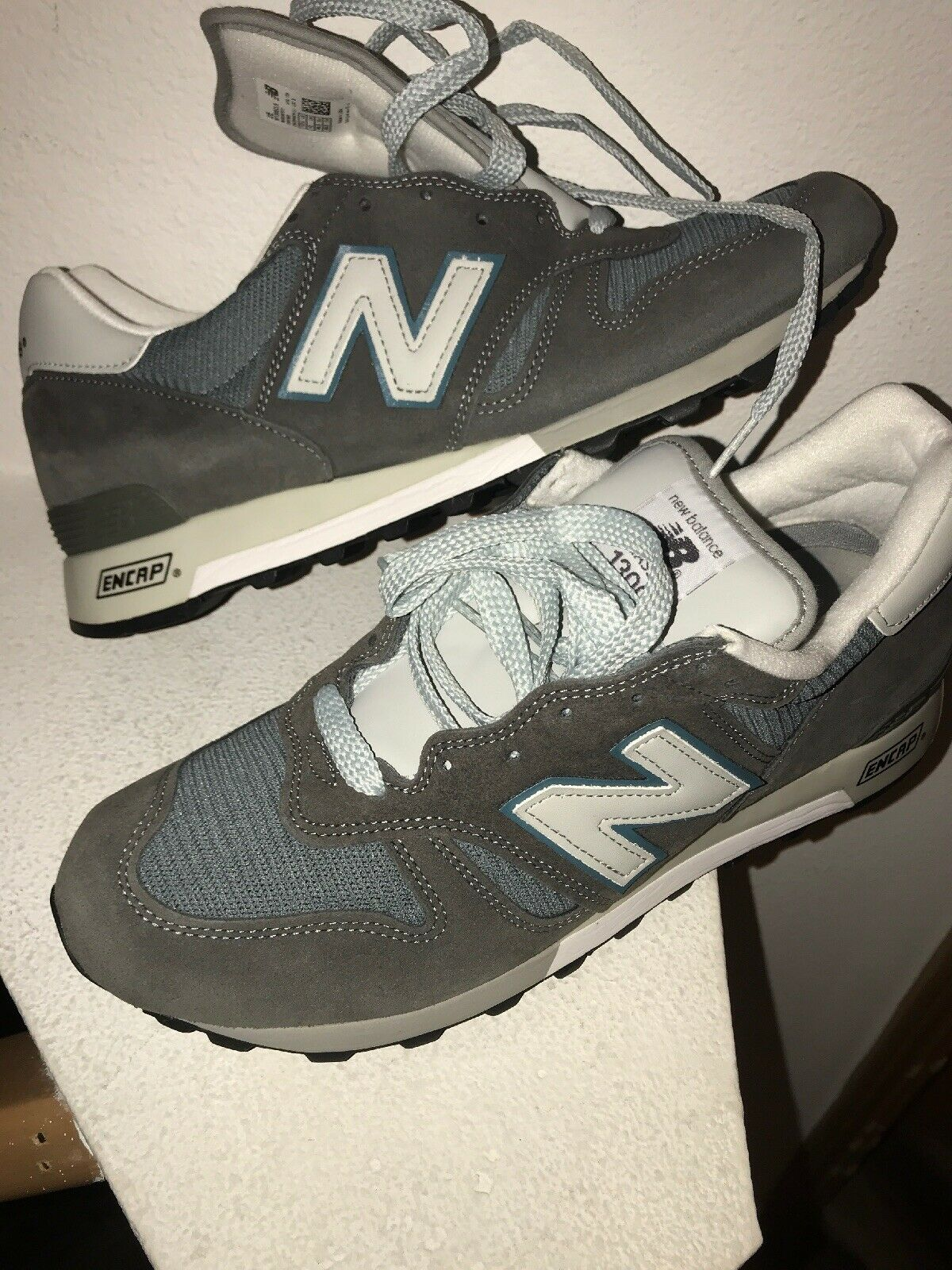 New Balance 1300 Heritage Sz 10.5 2E Made In USA M1300CLS 997 998 1400 996