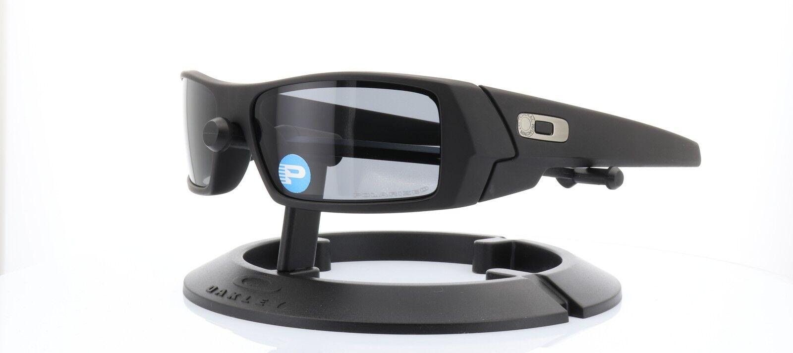 3fb3571f12 Oakley SI Gascan Polarized Sunglasses Cerakote Graphite Black Frame ...