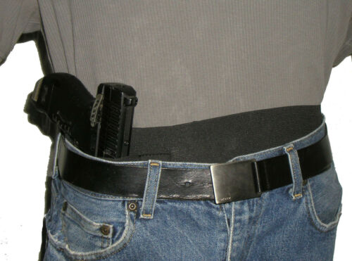 Small automatic caliber Holster Bellyband Conceal USA Manufacturer